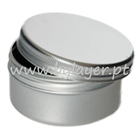 Aluminum jar 100ml with 67mm diameter with lid