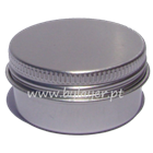 Aluminum jar 15ml with 39mm diameter with lid