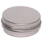 Aluminum jar 30ml with 52mm diameter with lid